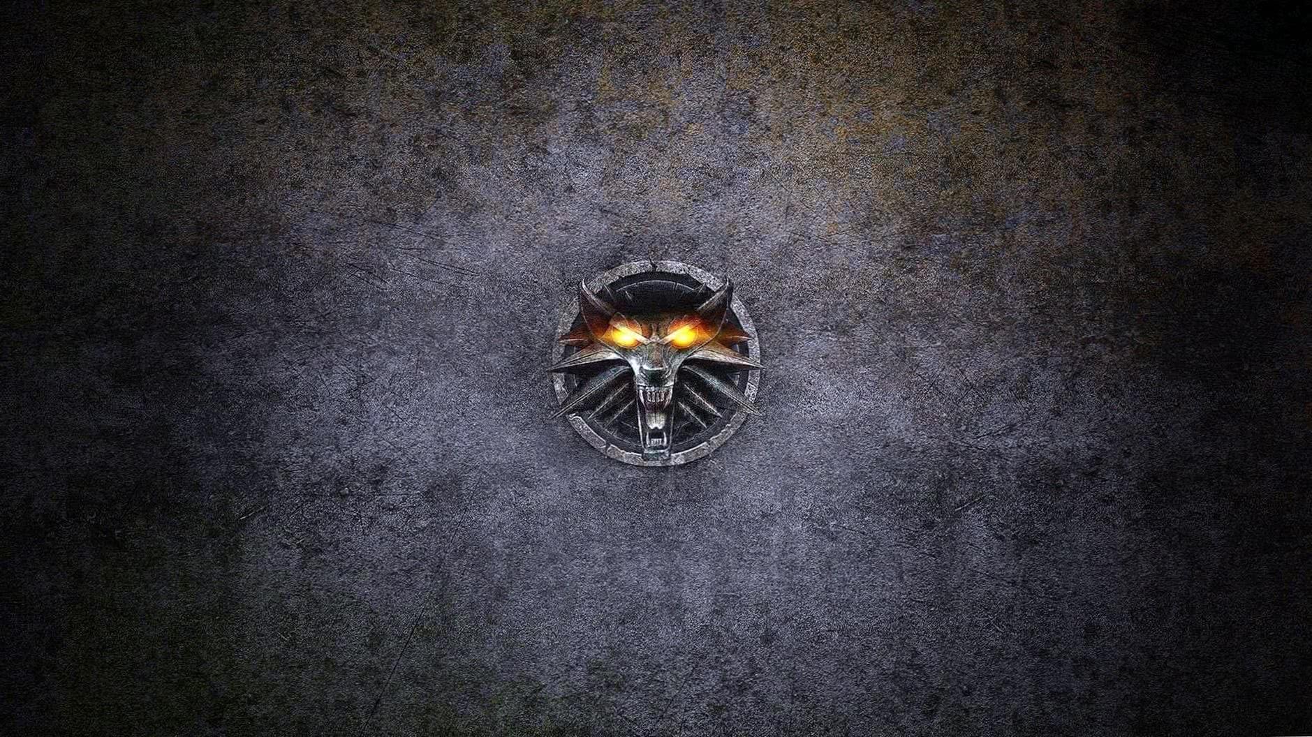 Wolf Head Logo Wallpaper