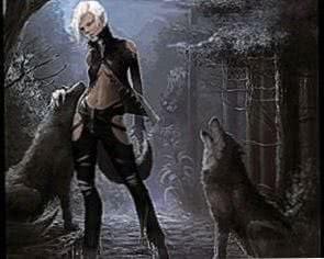 Wallpapers Werewolf Girl