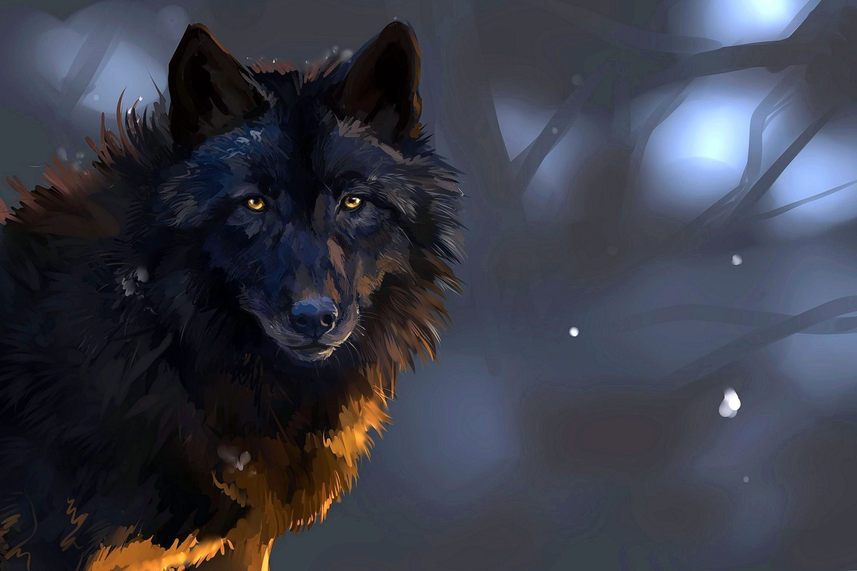 Wallpaper PC HD Wolf