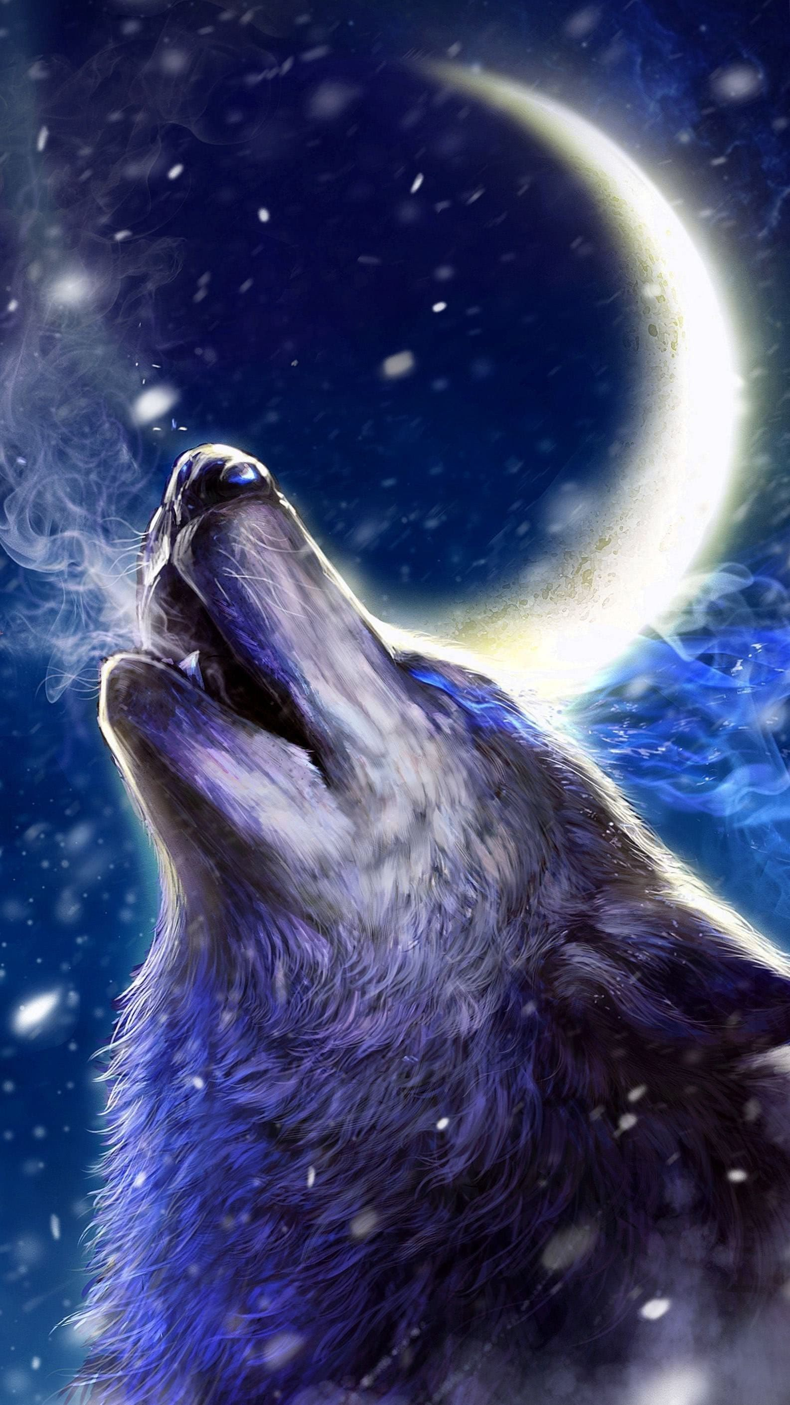 Android Live Wallpapers Wolves Howling Wolf Wallpaperspro