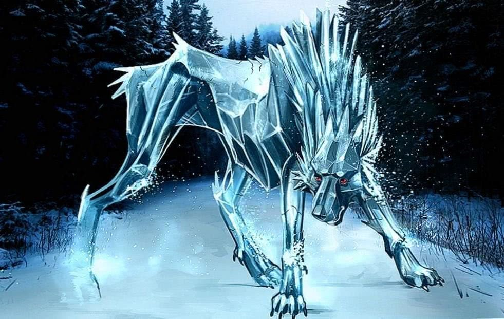 The Ice Wolf Wallpapers - Wolf