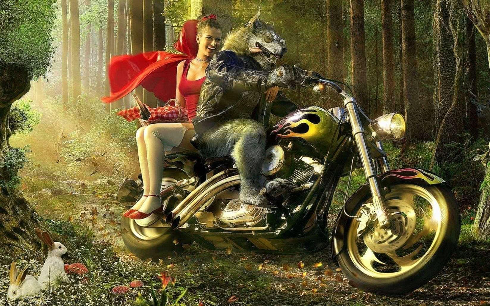 Big Bad Wolf Wallpaper HD