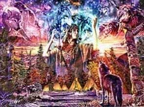Native American And Wolf Wallpapers
