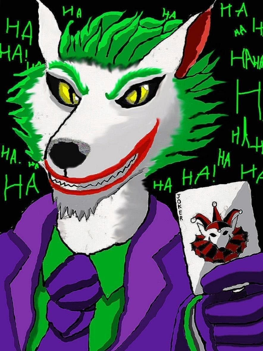 Joker Wolf Wallpapers