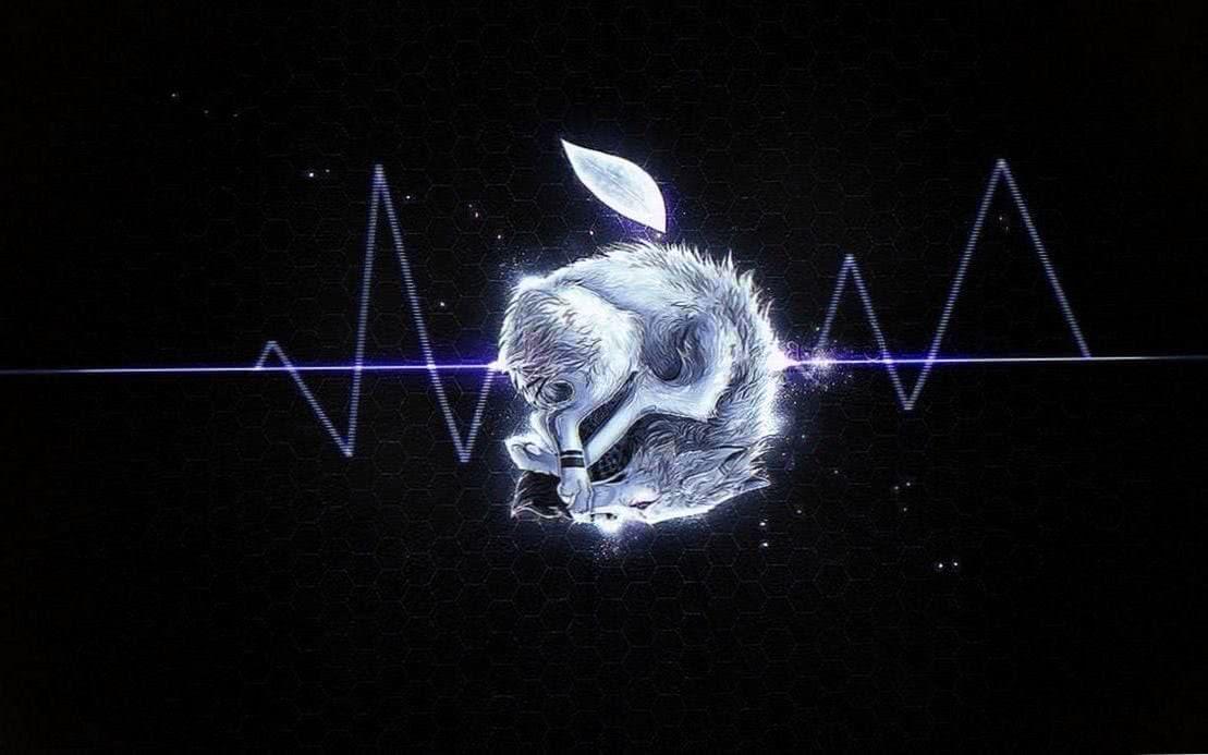 Apple Wolf Wallpaper