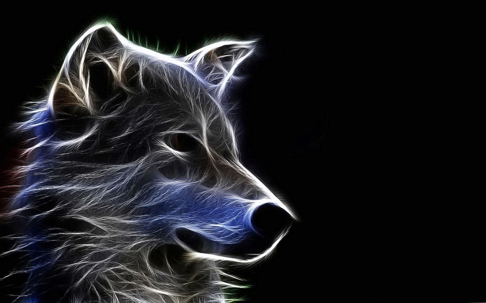 Wolf HD 3D Wallpapers