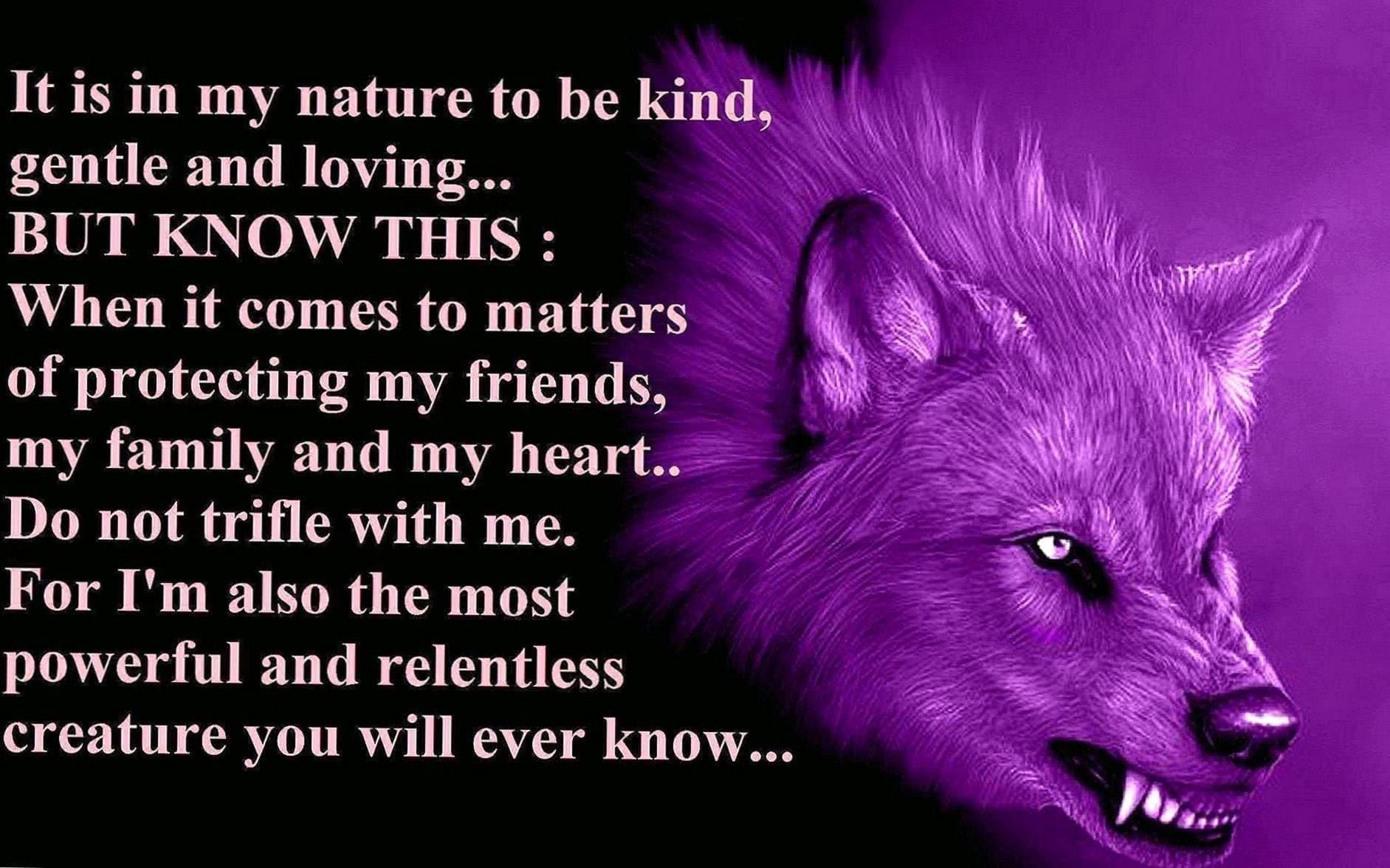 Lone Wolf Quotes Wallpaper HD