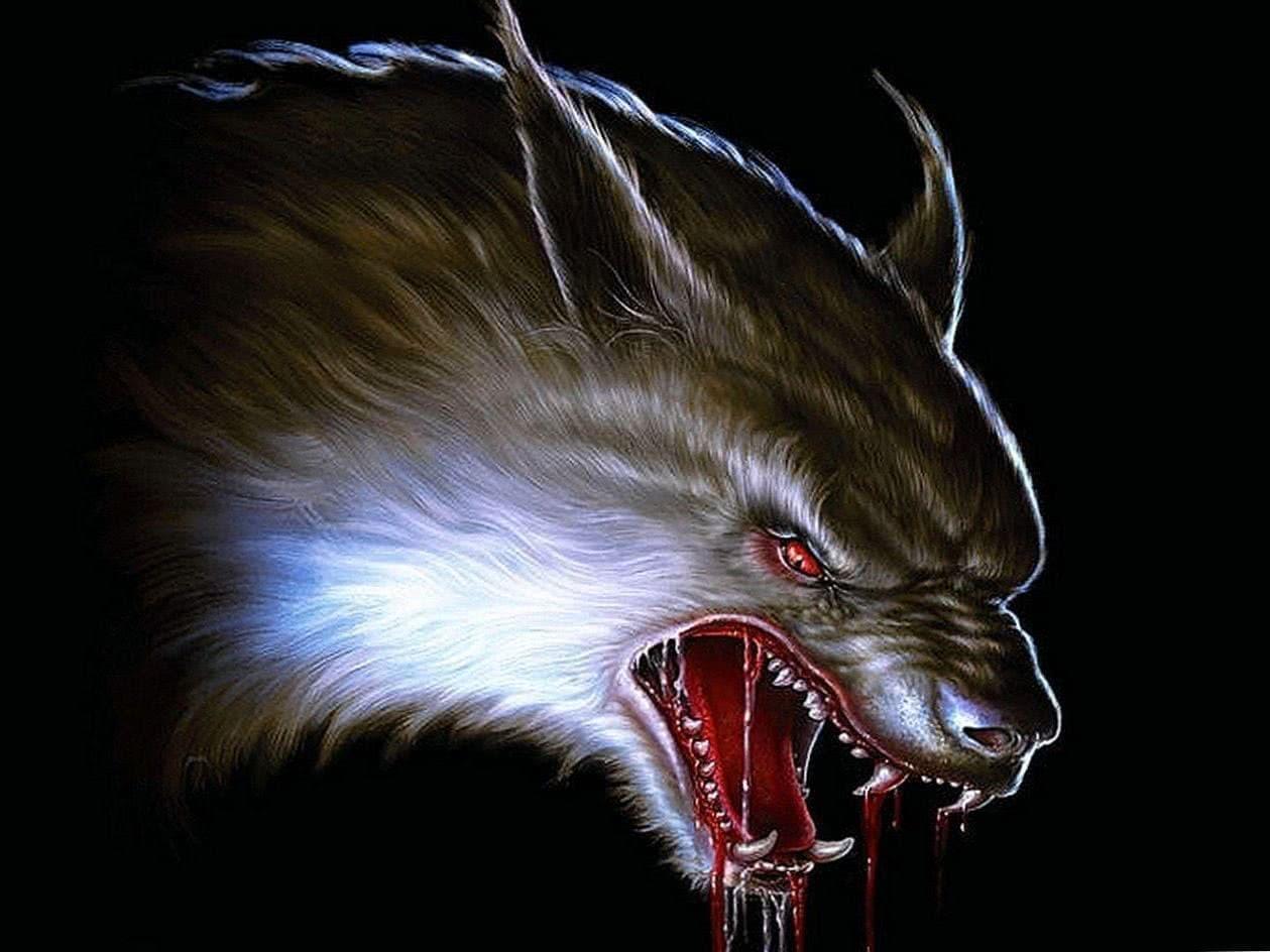 Dark Werewolf Wallpapers