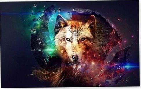 Magic Wolf Wallpaper