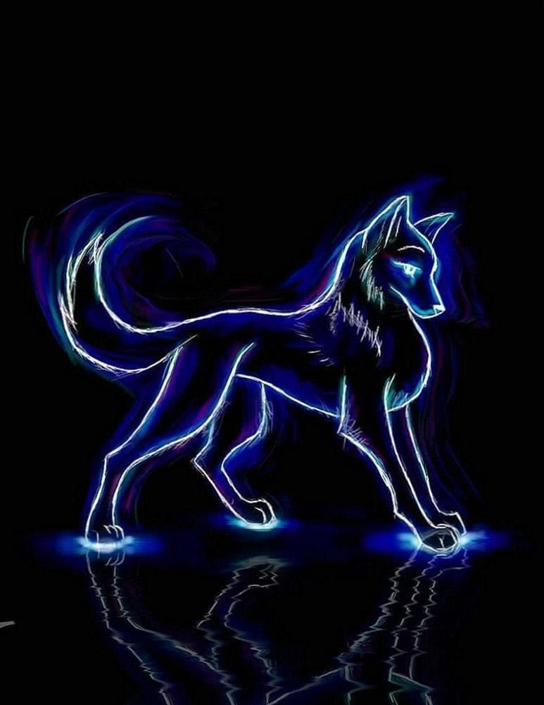 Free Neon Wolf Wallpapers Wolf Wallpapers Pro