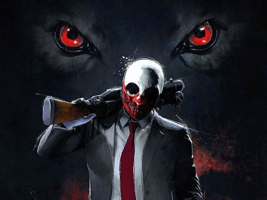 Payday 2 Wolf Wallpapers