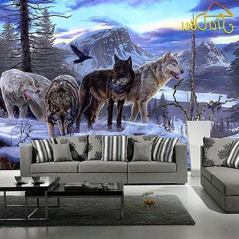 Wolf Room Wallpapers