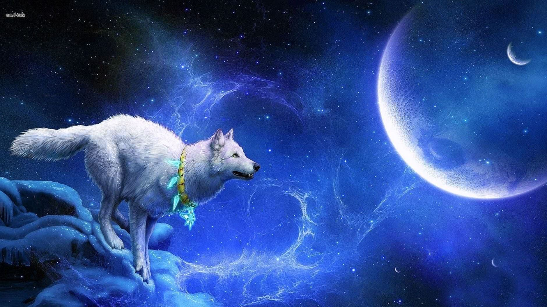 Space Wallpapers Wolf