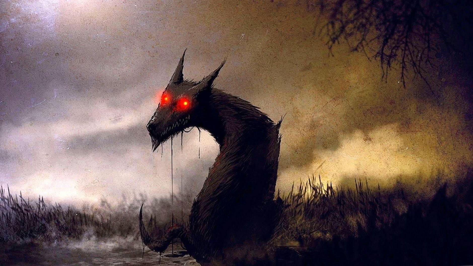 Wolf Demon Wallpaper