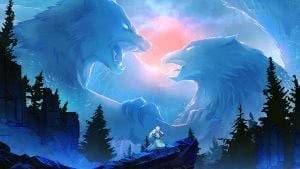 Eagle And Wolf Wallpapers