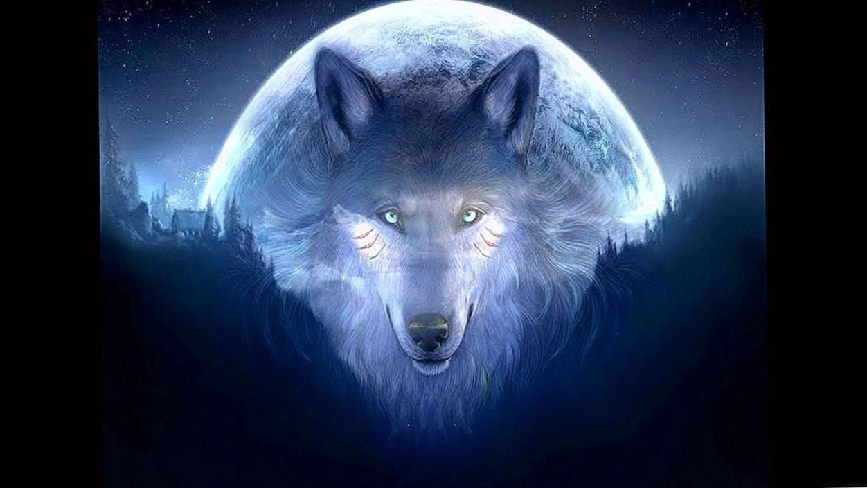 Wolves Wallpaper New Moon