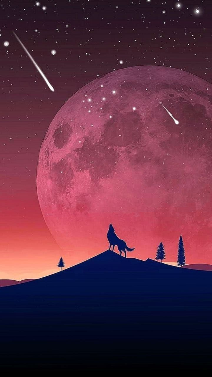 Wolf Moon Mobile Wallpapers