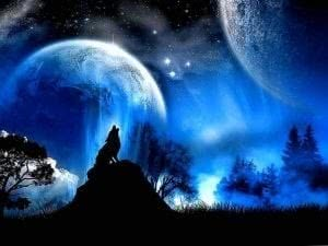 Wolves Moon Wallpapers