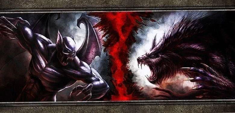 Wolf Vs Vampire Wallpaper