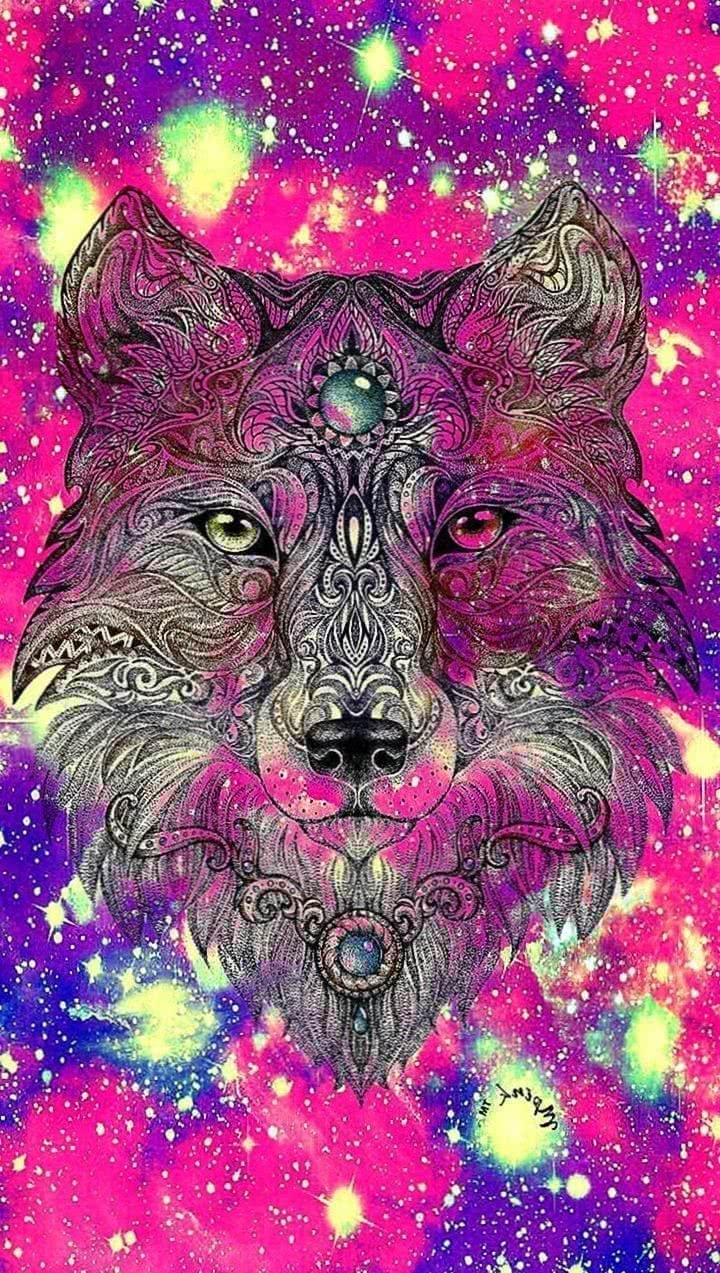 Galaxy Wolf Wallpapers For Android Wolf Wallpapers Pro