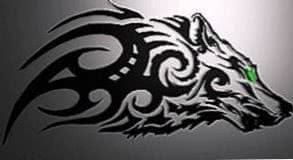 Tribal Wolf Wallpapers