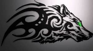 Tribal Wolf Wallpapers HD