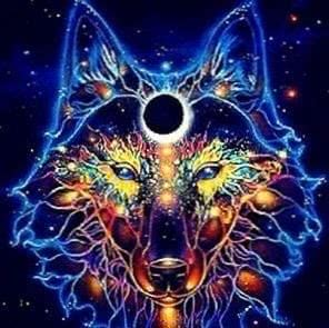 Trippy Wolf Wallpapers