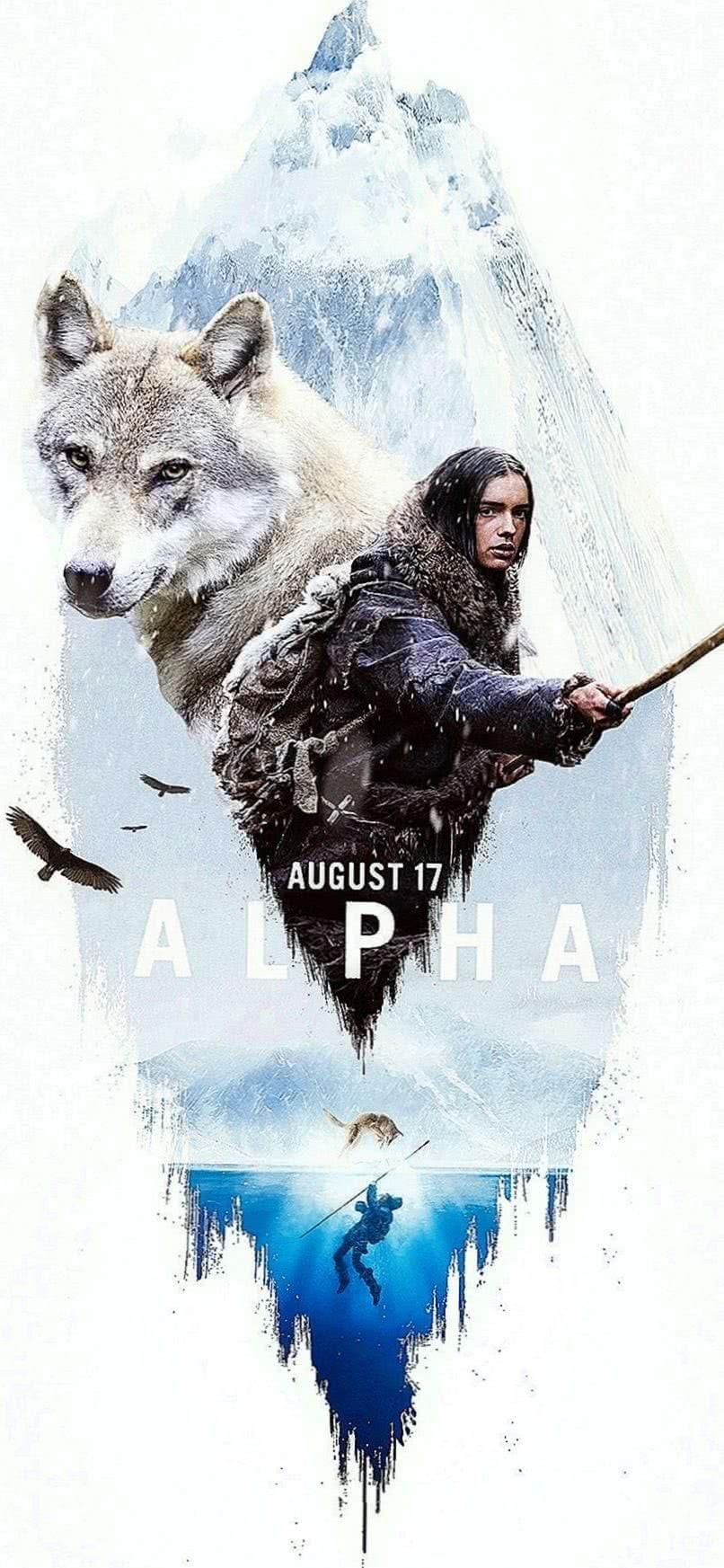 Alpha Wolf iPhone Wallpaper