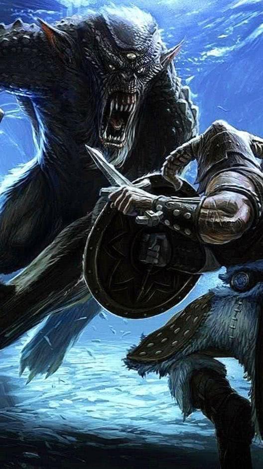 Werewolf Tablet Wallpaper