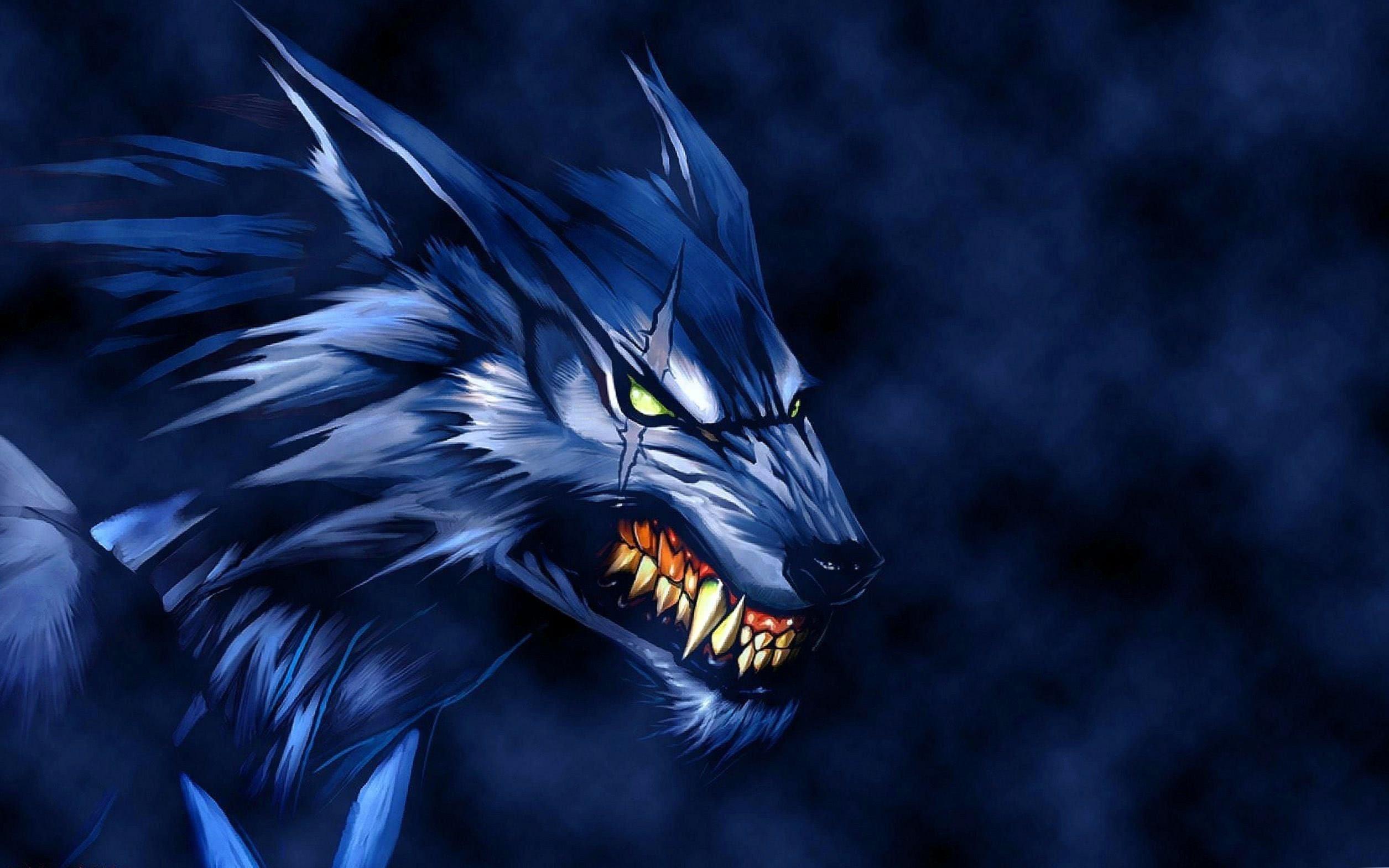 Dark Werewolf Wallpaper HD