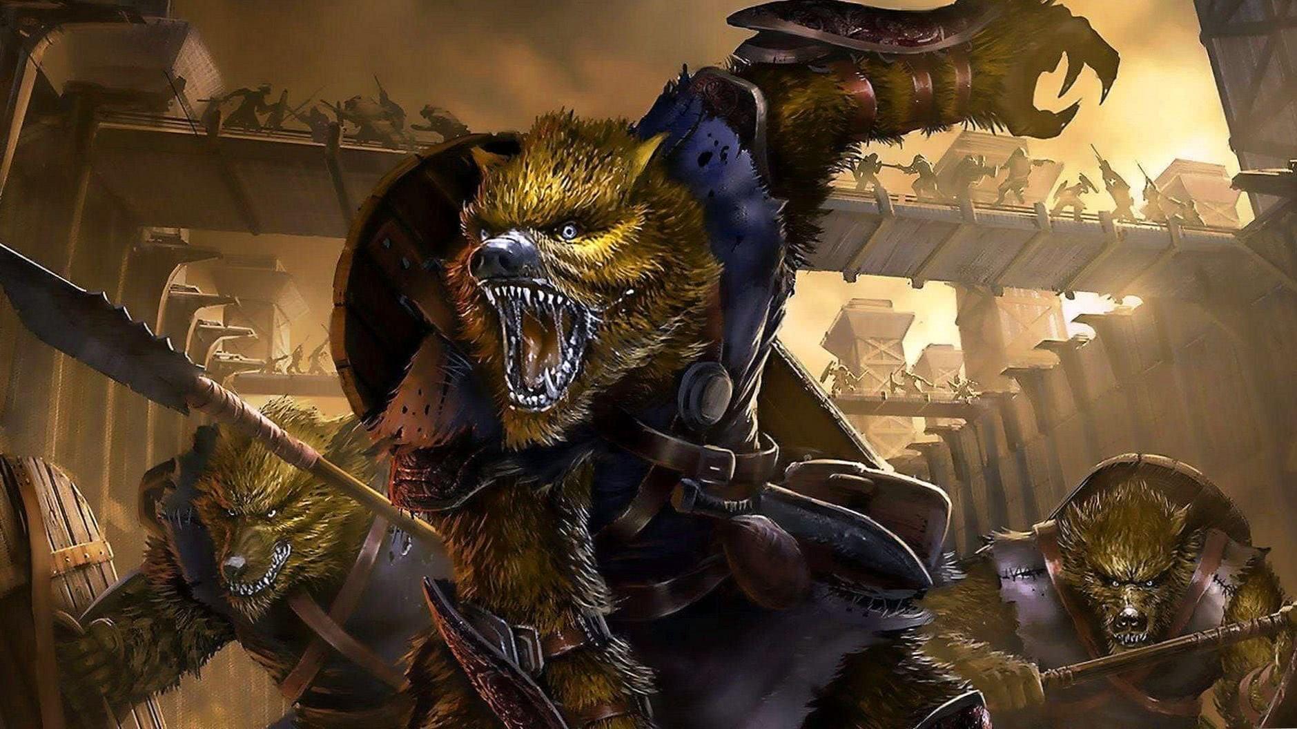 Werewolf Screen Wallpapers