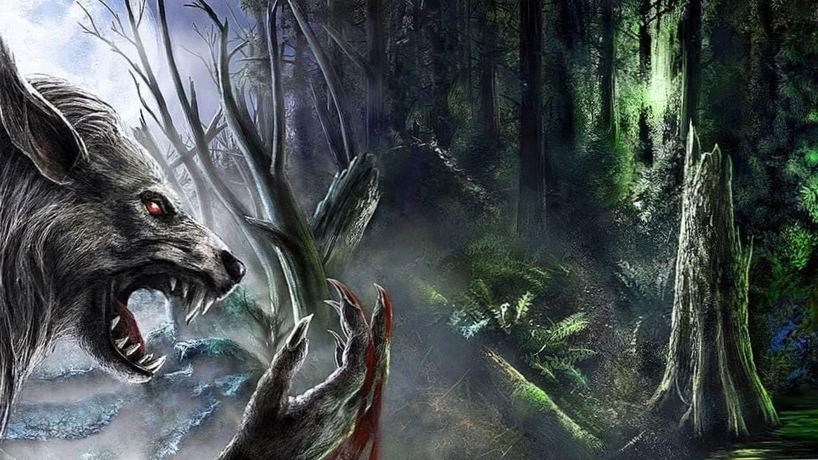 Werewolf Art iPhone Wallpapers