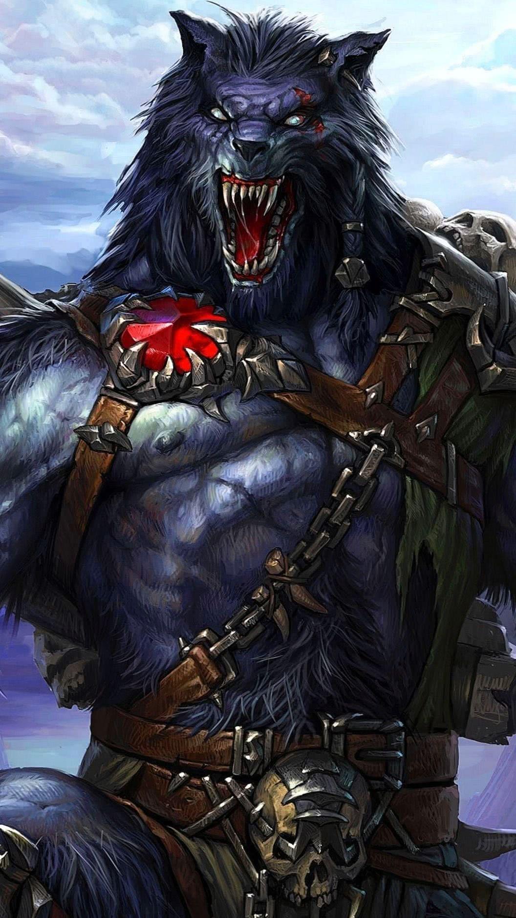 Werewolf Wallpaper For Mobile HD