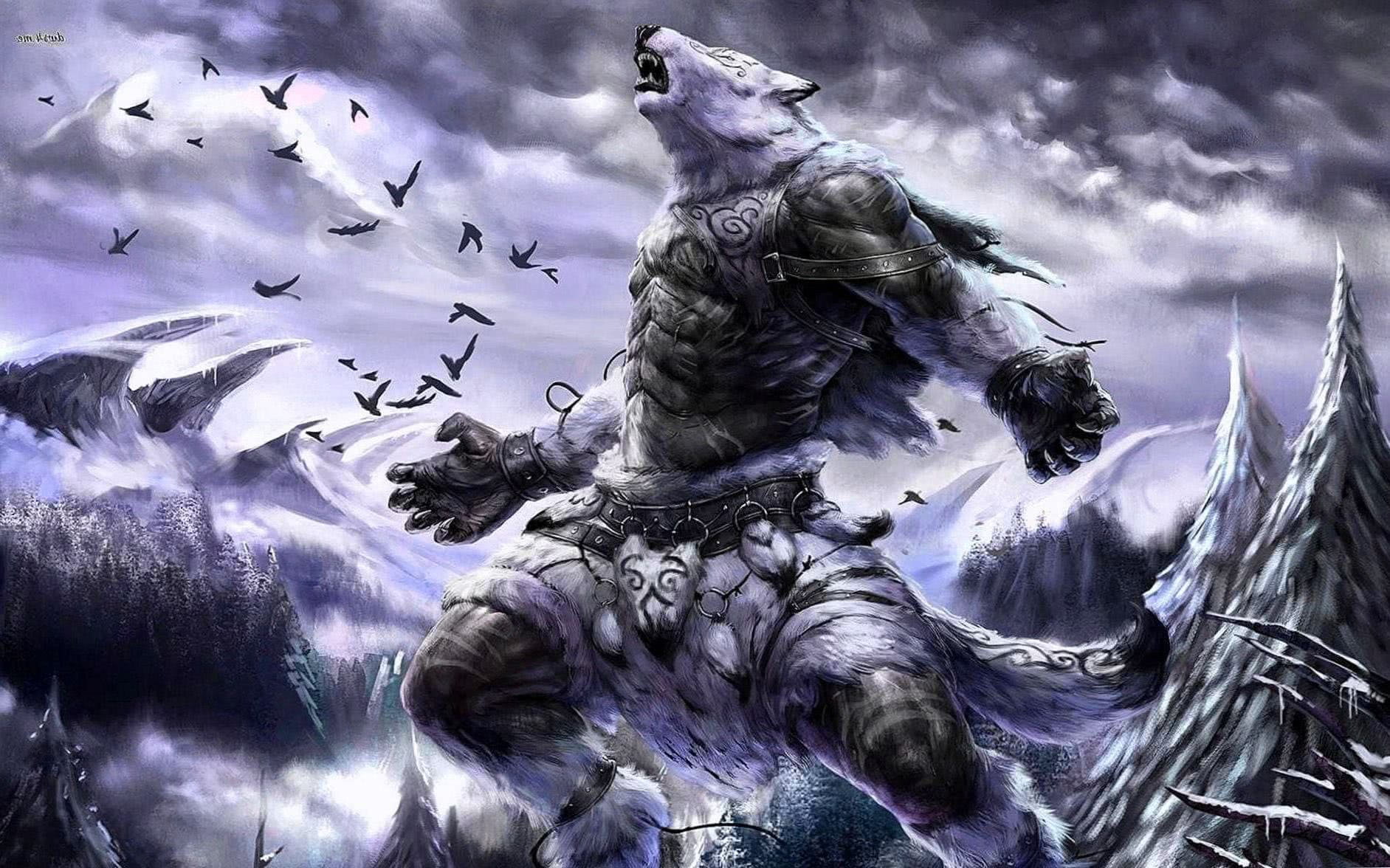 HD Wallpapers Of Werewolves