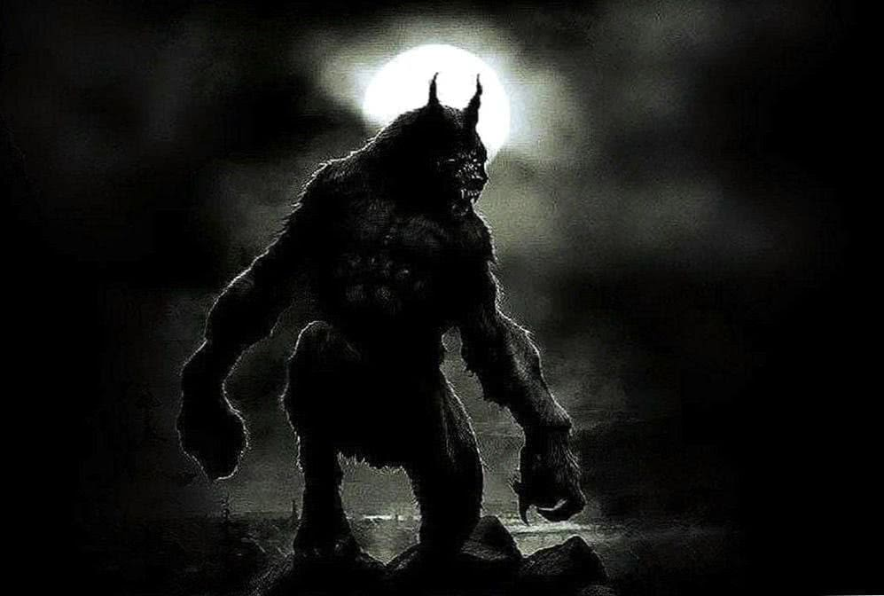 Wallpaper Werewolf