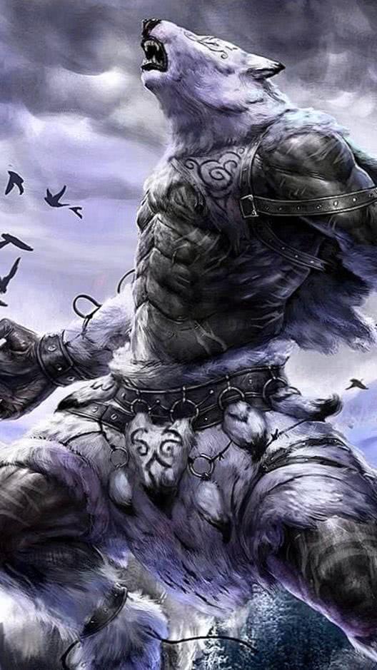 Werewolf Phone Wallpaper