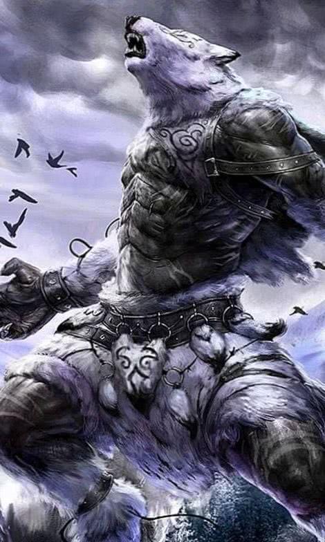 iPad Wallpaper Werewolf