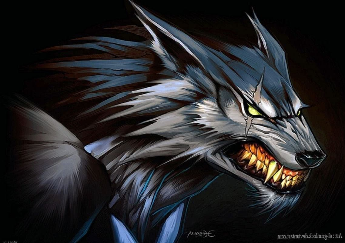 Anime Werewolf Wallpaper