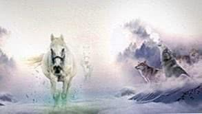 Wallpapers Wolves And Horses