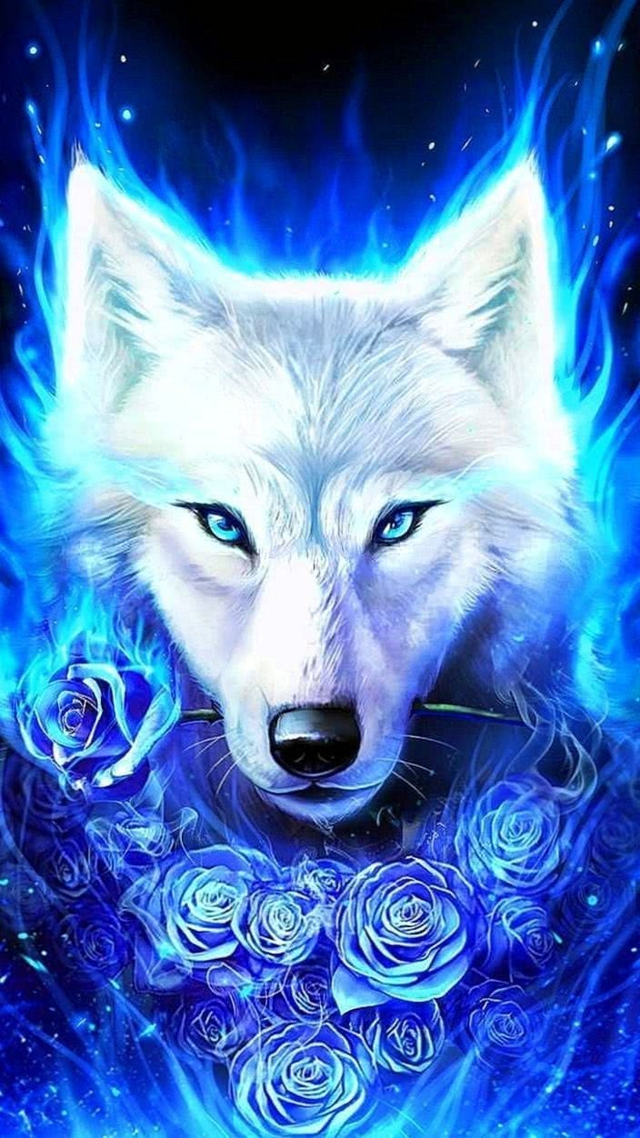 Wallpapers Ice Wolf