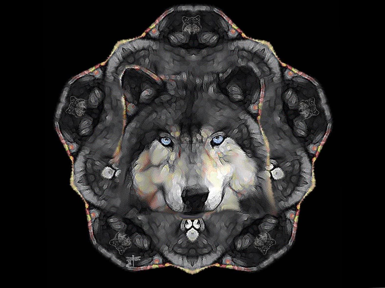 Wolf Windows 8 Wallpaper