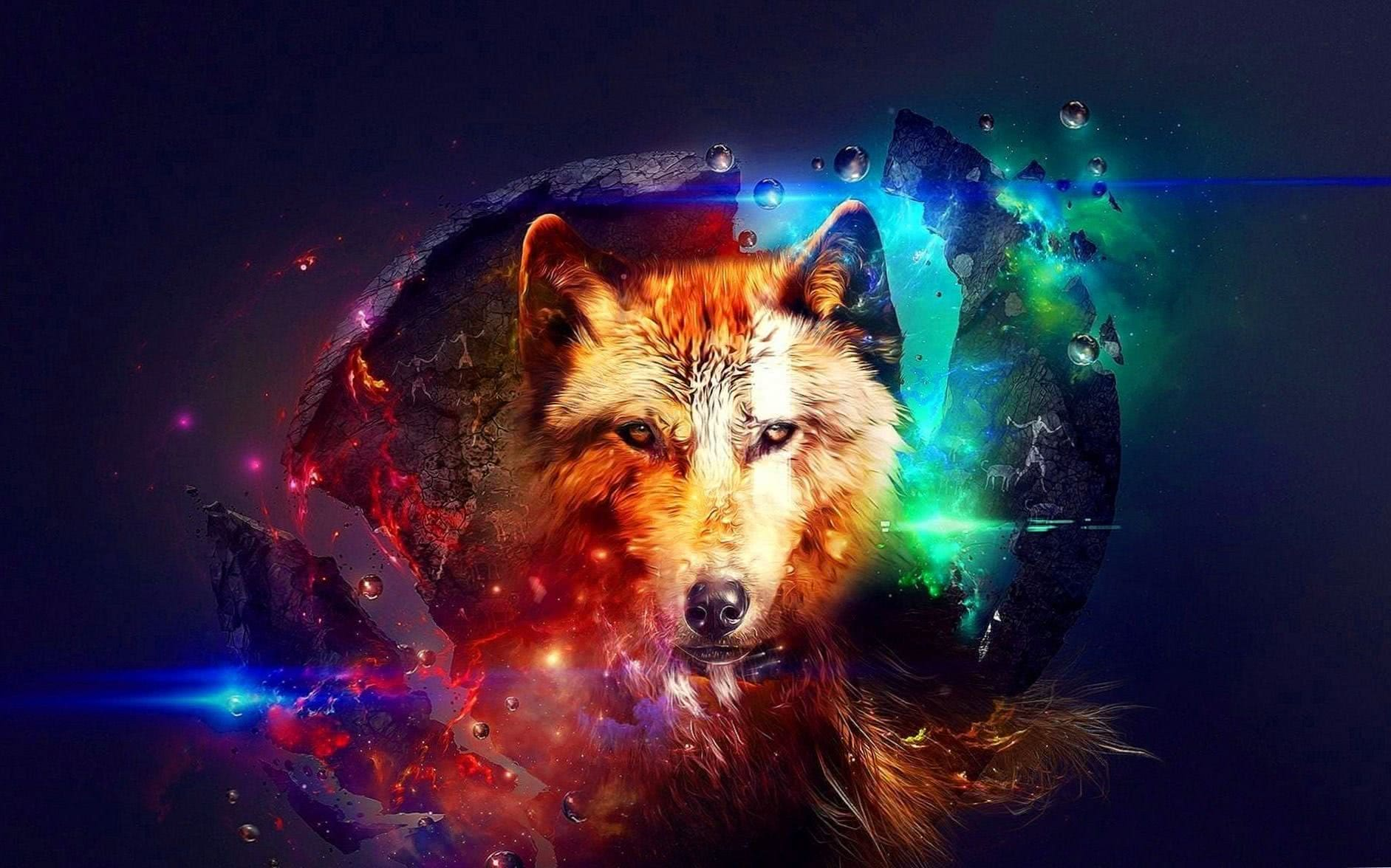 Wolves Fantasy Wallpapers