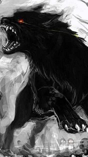 Dark Wolf Wallpaper Phone