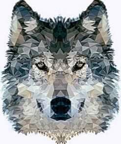 Polygonal Wolf Wallpapers
