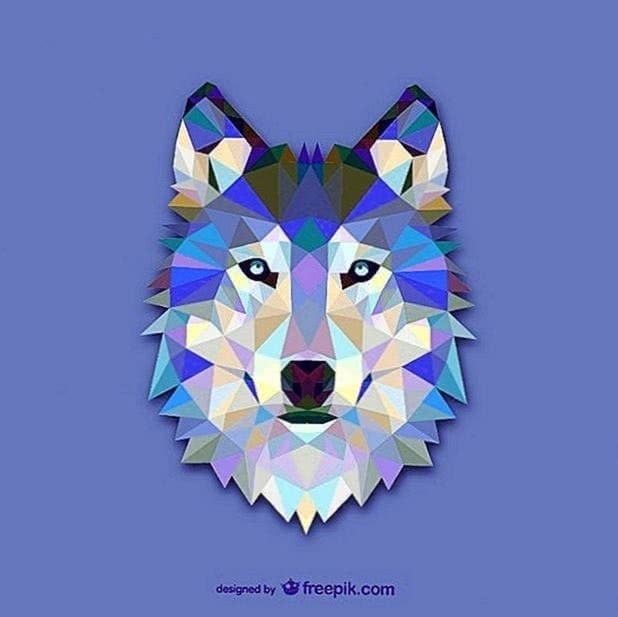 Wolf Wallpaper Design