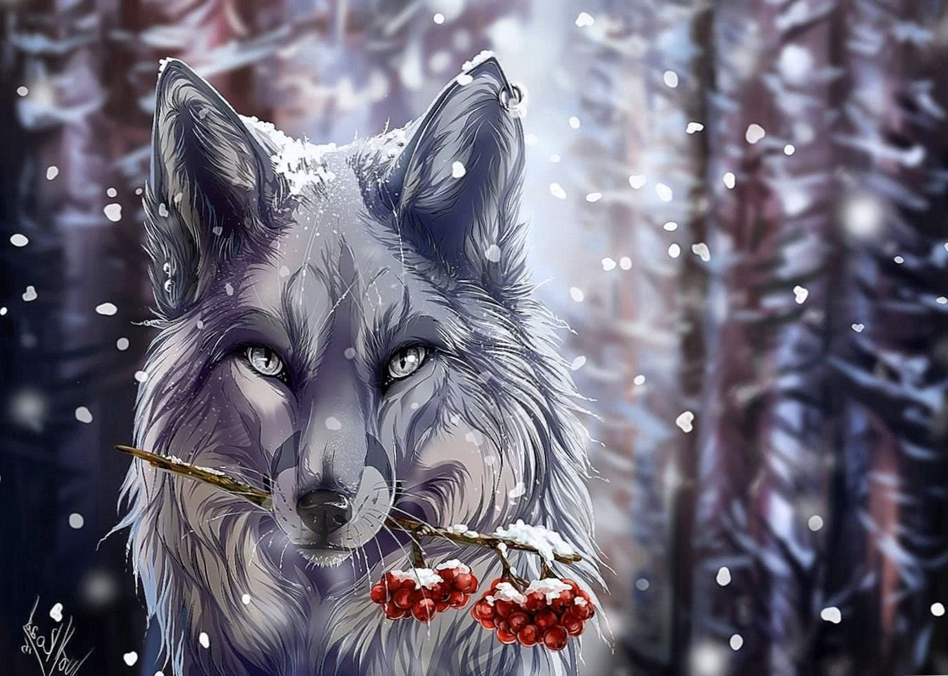 Free Wolf Fantasy Wallpapers Anime Hd Wolf Wallpapers Pro