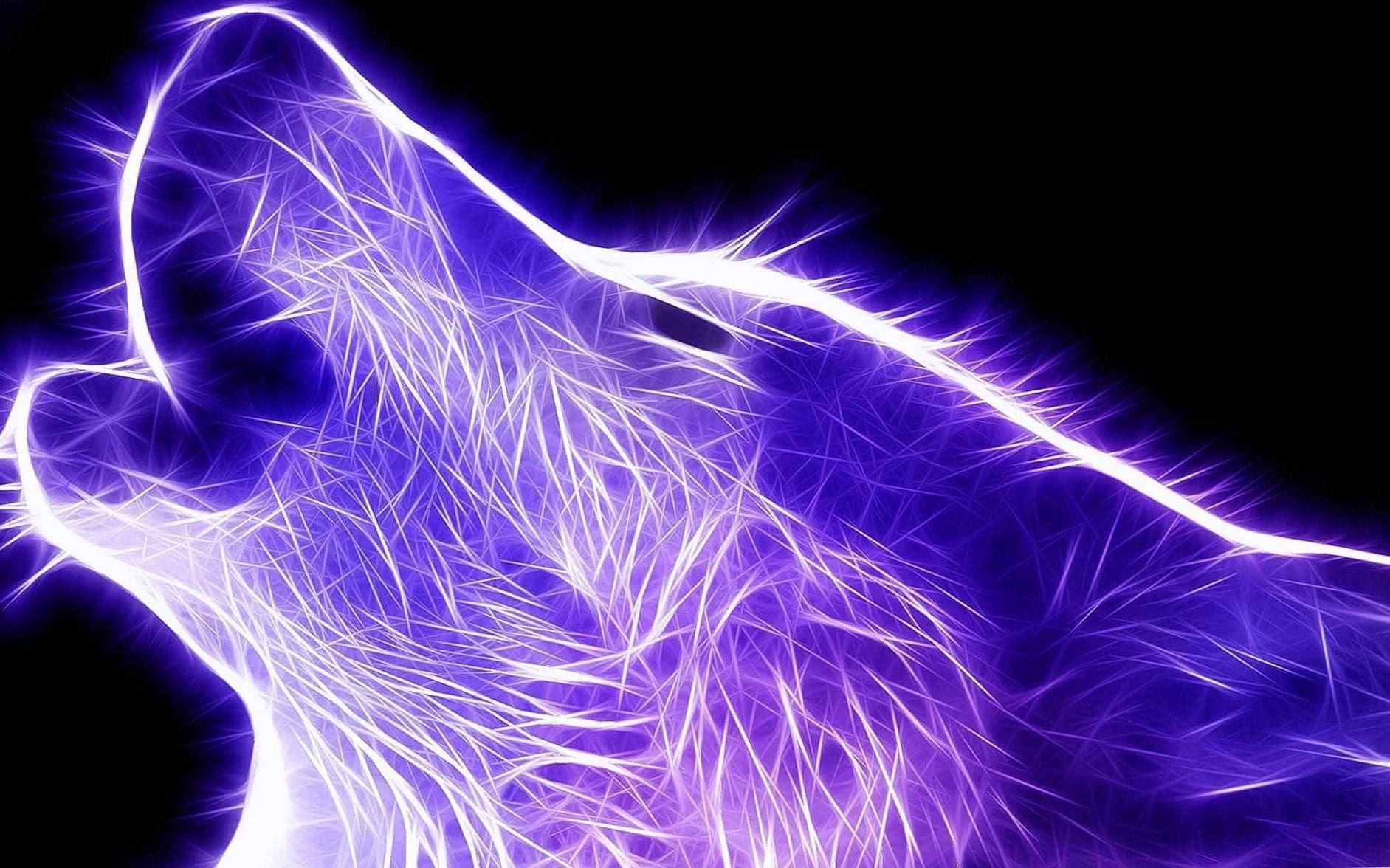 Cool Electric Wolf Wallpapers
