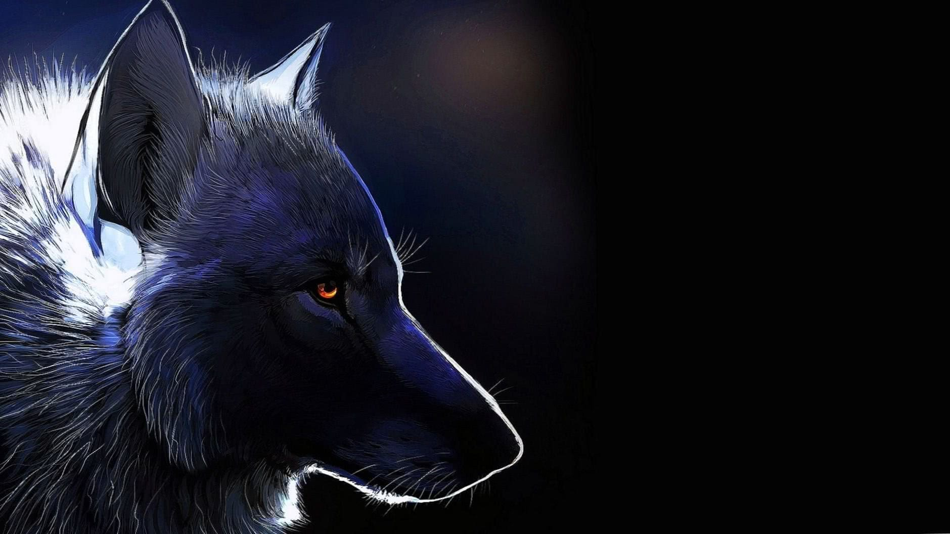 Cool Wolf Wallpaper For PS4