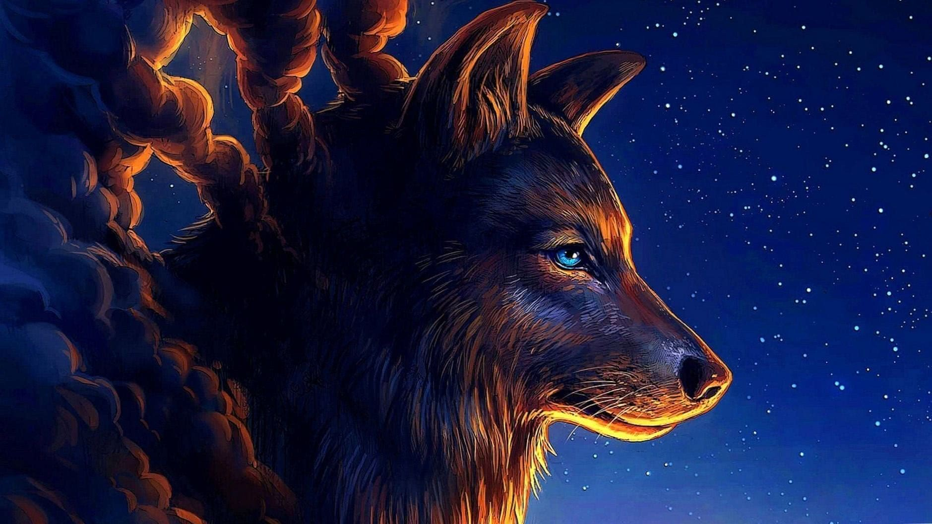 Wolf Art Wallpaper HD