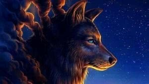 HD Wallpapers Art Wolf